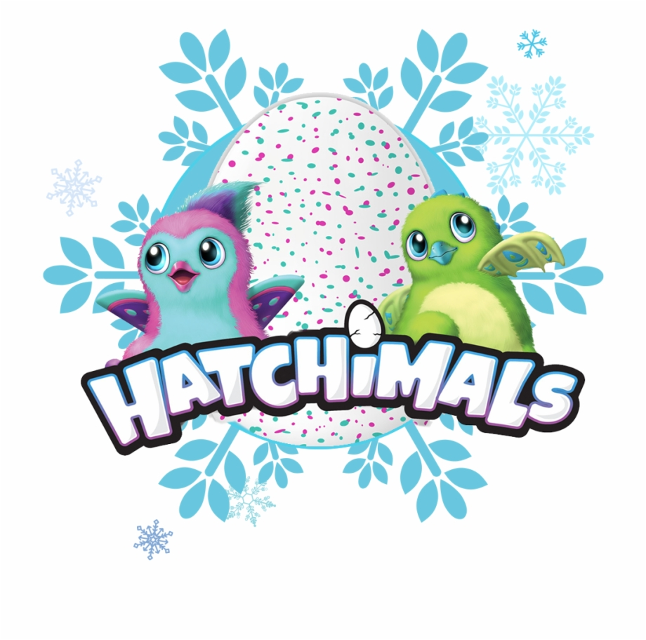 Hatchimals Logo W Characters.