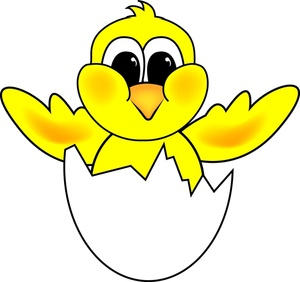Hatching Egg Clipart.