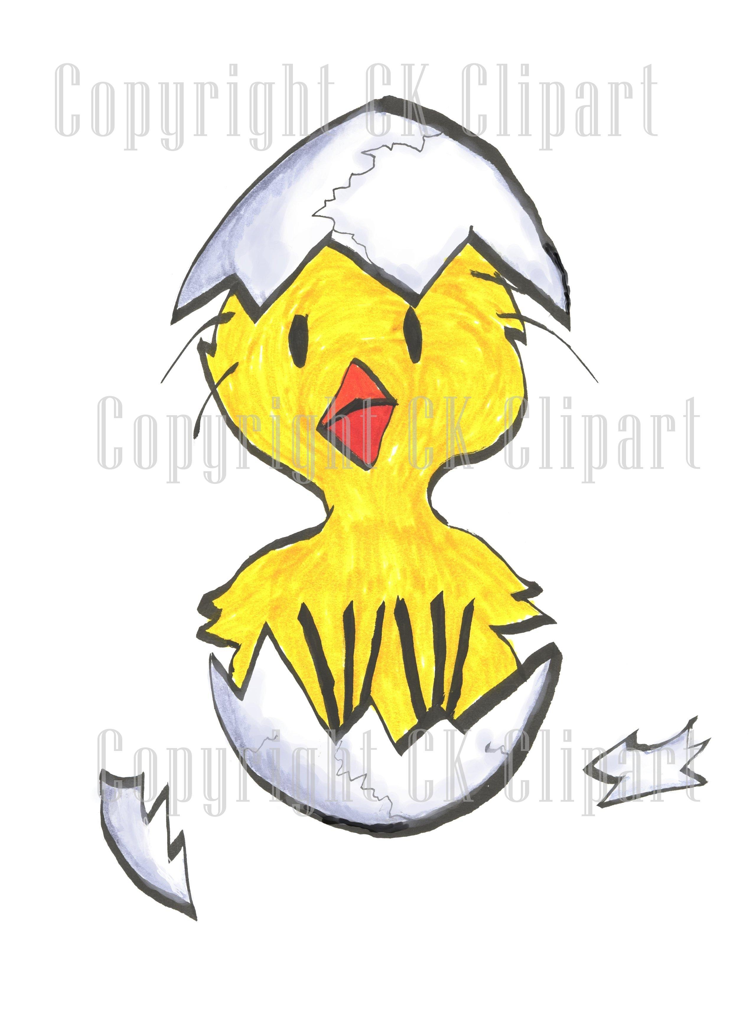 Hatchling clipart #6