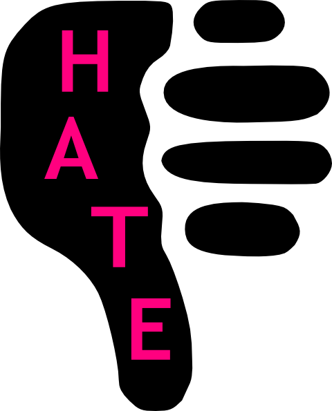 Hate Clipart.