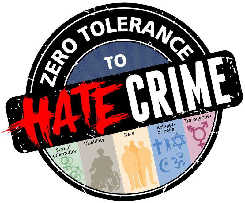 Zero tolerance to hate crime launches.