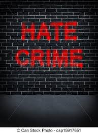Hate Crime Clipart.