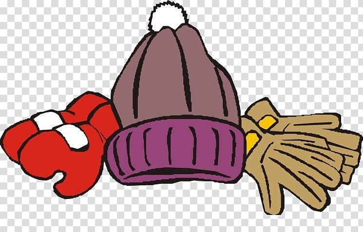Hat Glove, Warm winter transparent background PNG clipart.