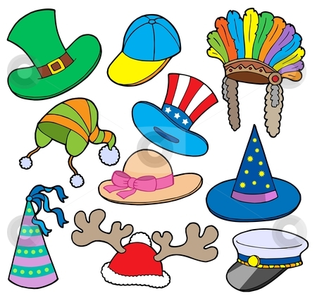 Hats Clipart Page 1.