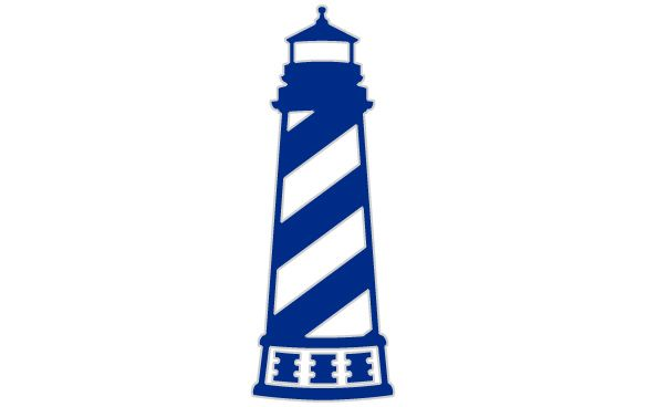 Lighthouse Sticker, $3.00.