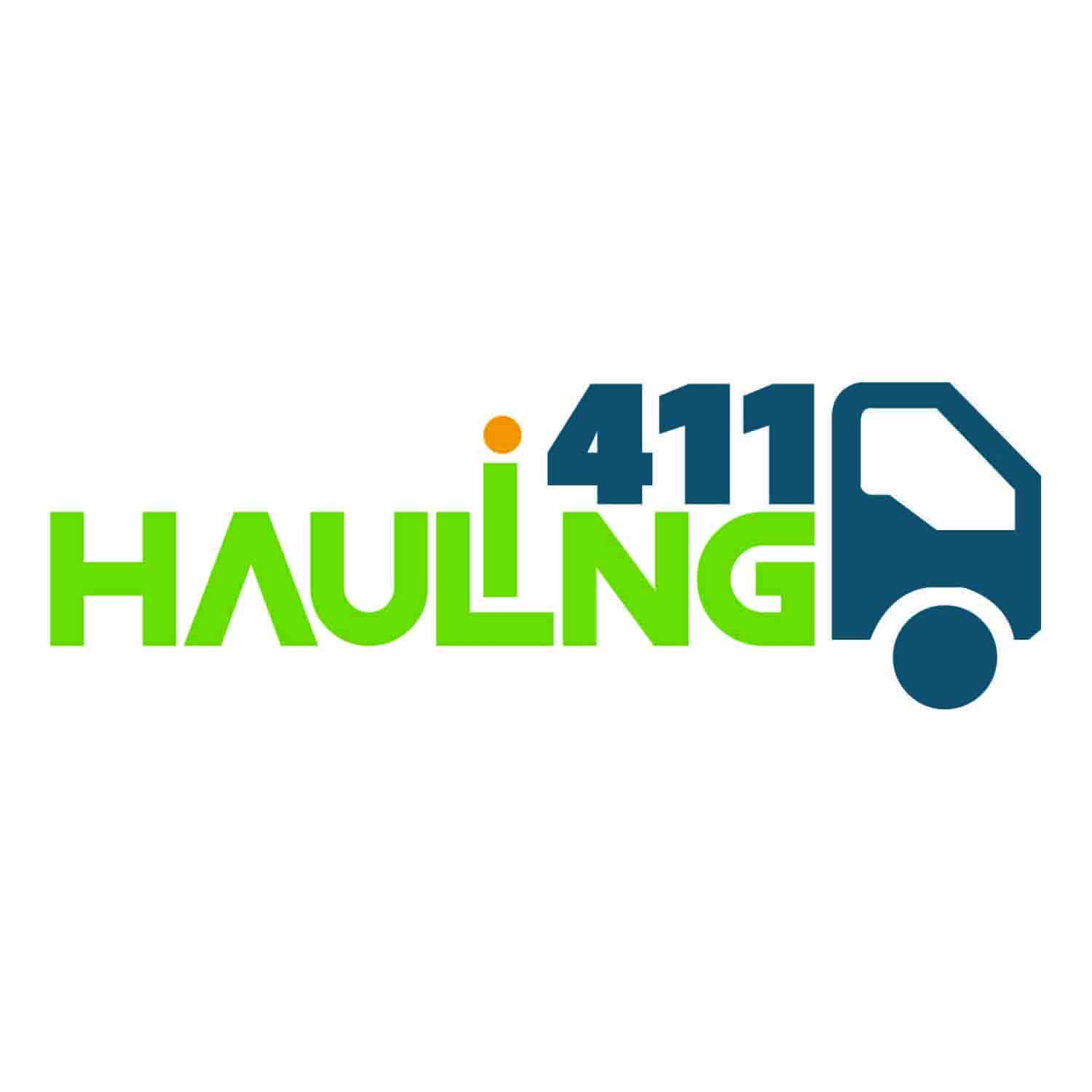 Playful, Modern, Junk Removal Logo Design for Hauling 411 by.