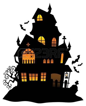 Haunted castle clipart - Clipground