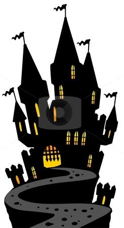 Haunted Castle Clipart.