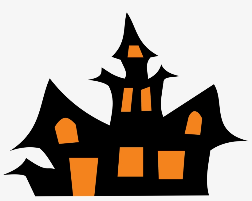 Haunted House Clip Art Black And White Clipart Panda.