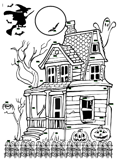 19+ Haunted House Clipart Black And White.
