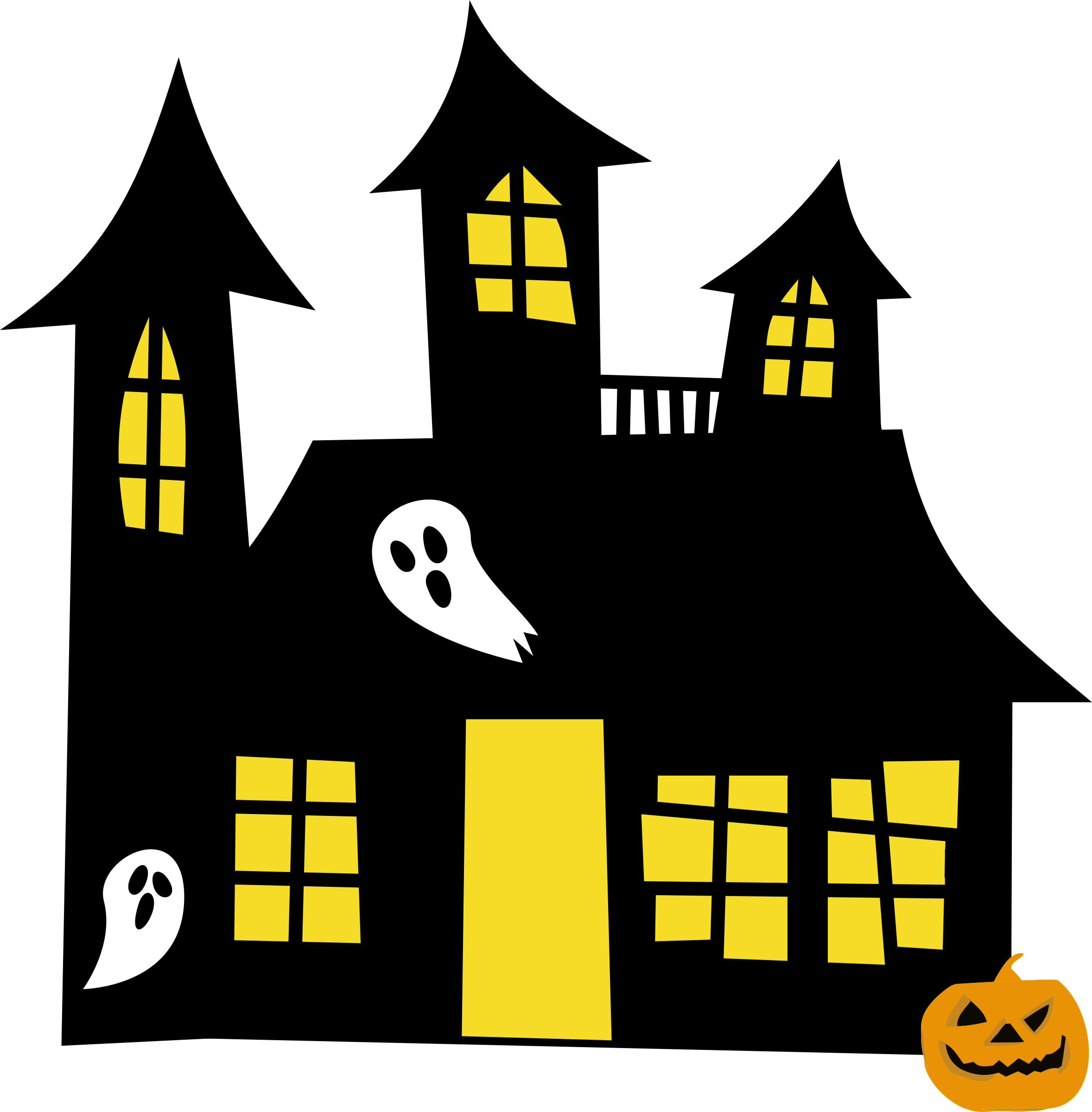 Clip art haunted house clipart images gallery for free download.