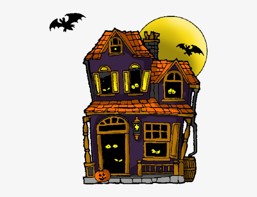 Free To Use Public Domain Haunted House Clip Art.
