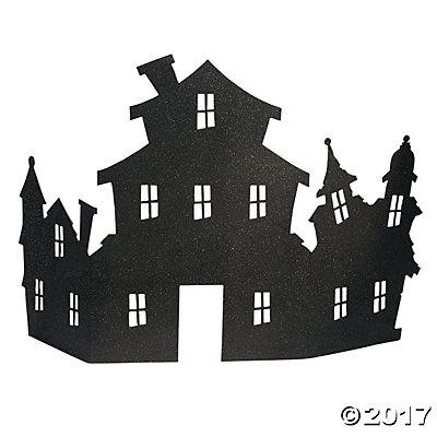 Haunted House Corner Centerpiece.