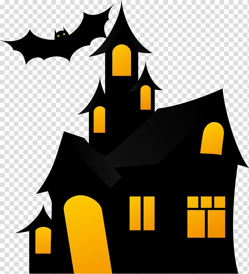 Halloween Haunted House Png & Free Halloween Haunted House.