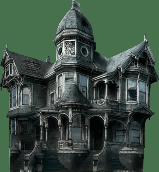 Haunted House transparent background.