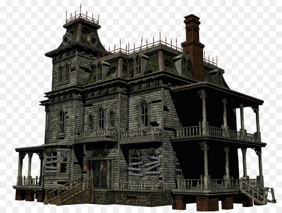 Haunted House Cartoon png download.