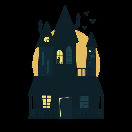 Halloween haunted house.