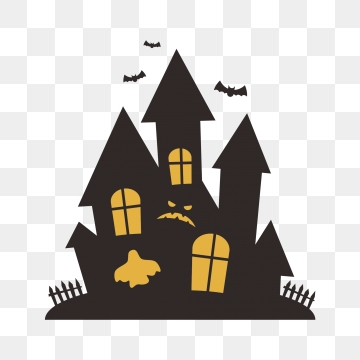 Haunted House PNG Images.