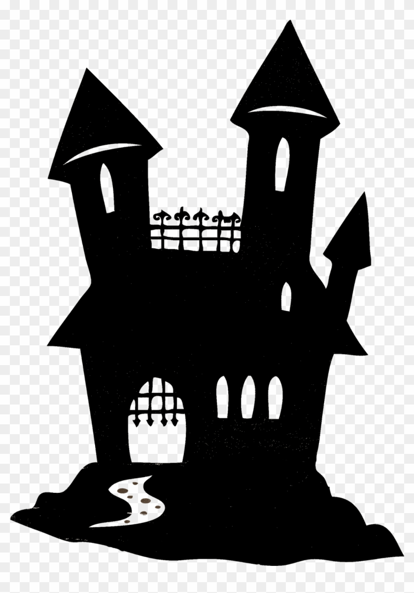 Top Images For Haunted House Silhouette On Picsunday.