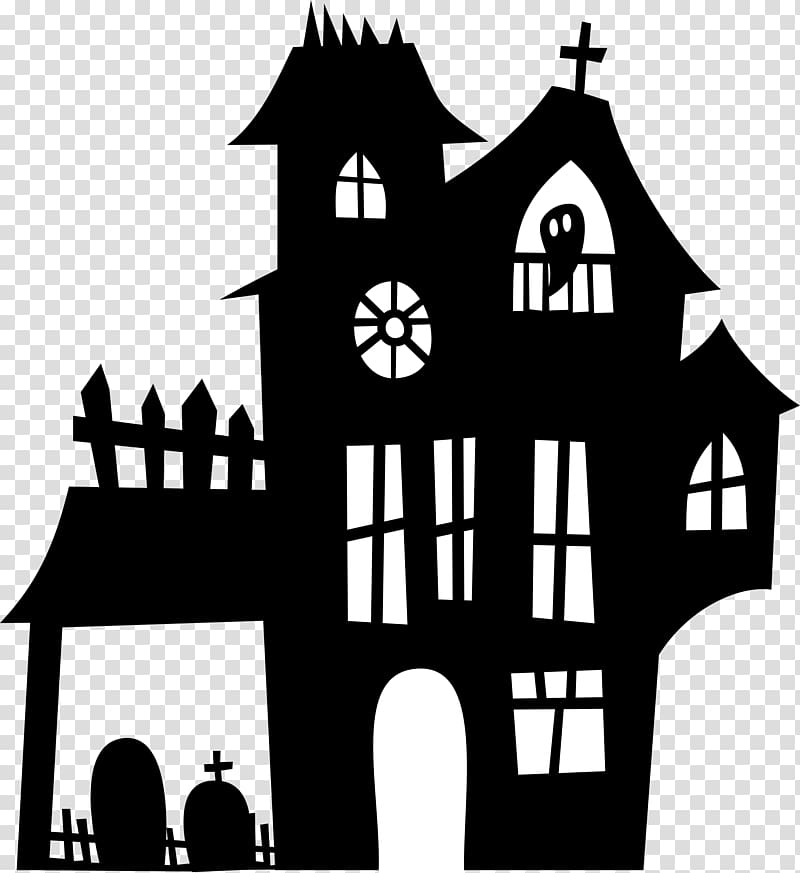 Haunted house , house transparent background PNG clipart.