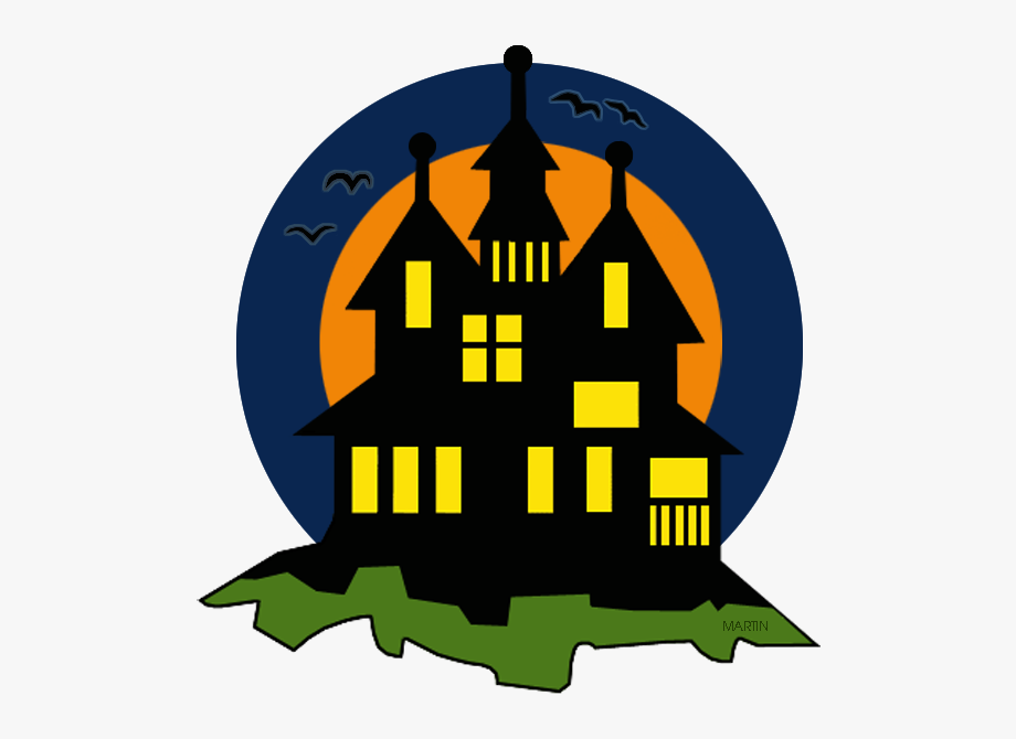 Haunted House Clipart Phillip Martin.