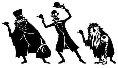 Disney Haunted Mansion Clipart.