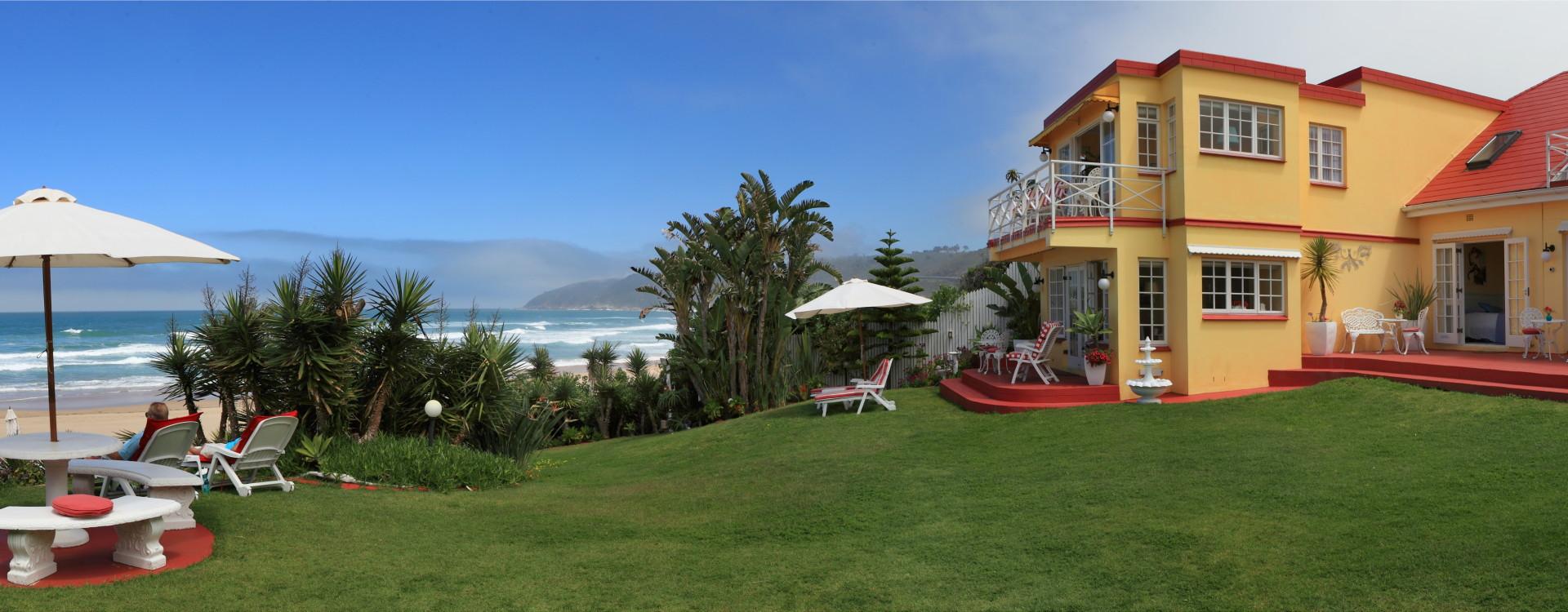 Haus am Strand.