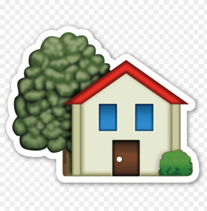 clipart houses emoji.