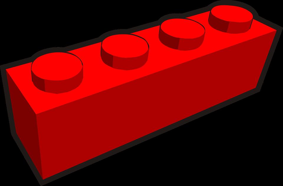 Free vector graphic: Brick, Clip Is A Brick, Lego.