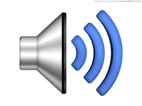 Speaker volume icon (PSD) Clipart Picture Free Download.