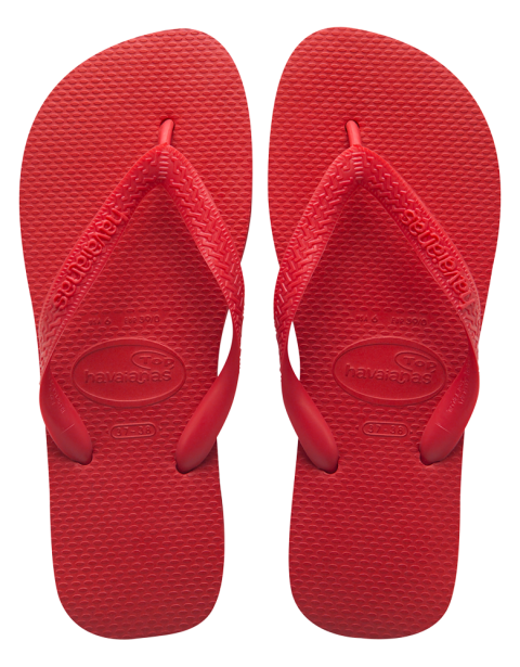 Havaianas Top Ruby Red flip flop.