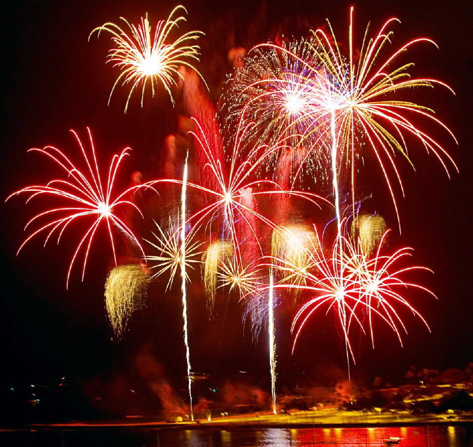 Havaii Fireworks Clipart Clipground