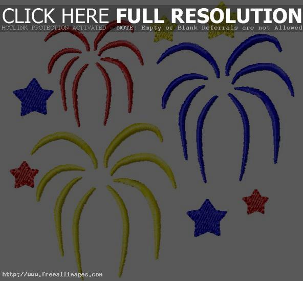 Fireworks Clipart Hawaii.