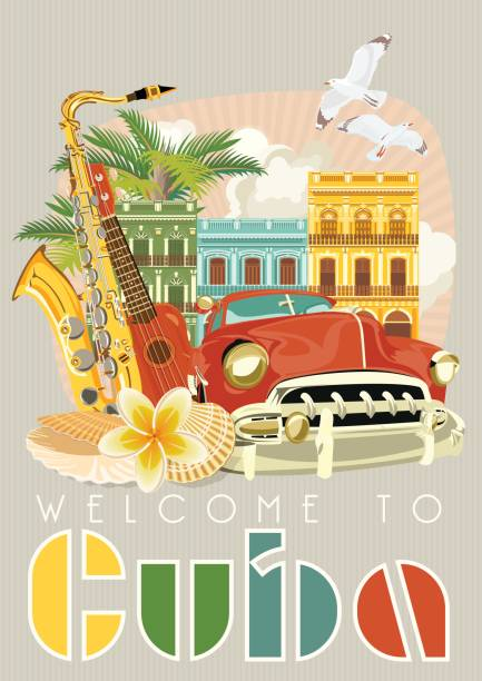 Best Havana Cuba Illustrations, Royalty.