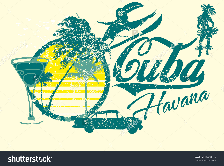 Havana cuba clipart.