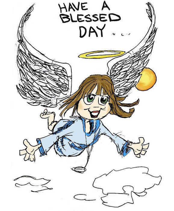 Have Blessed Day Clip Art free image.