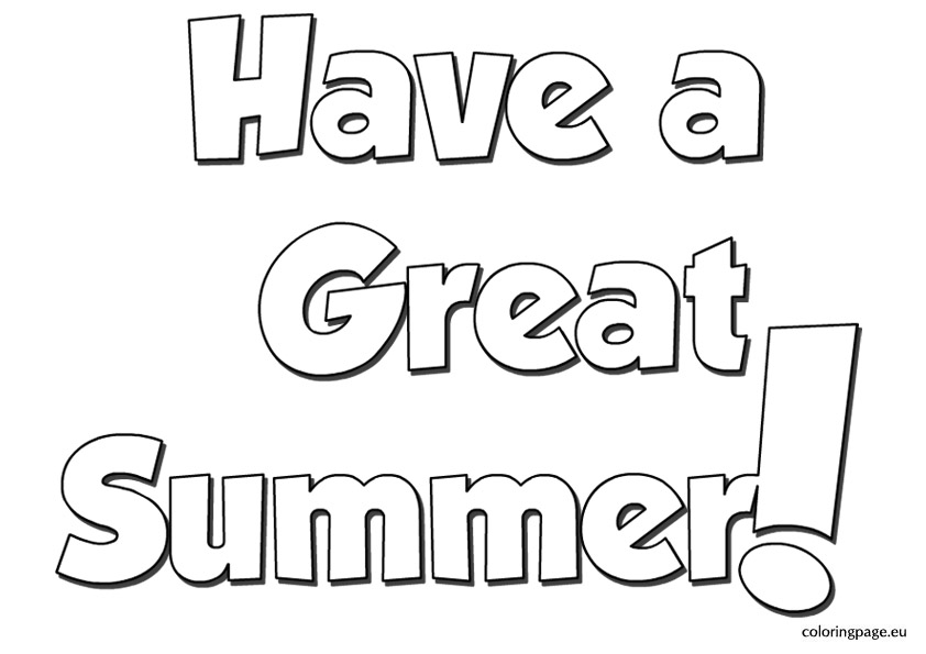 Free Have A Great Summer, Download Free Clip Art, Free Clip.