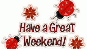 Have a good weekend clipart 3 » Clipart Station.
