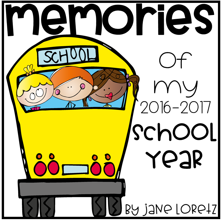 Memories of my School Year (on the pond clipart).