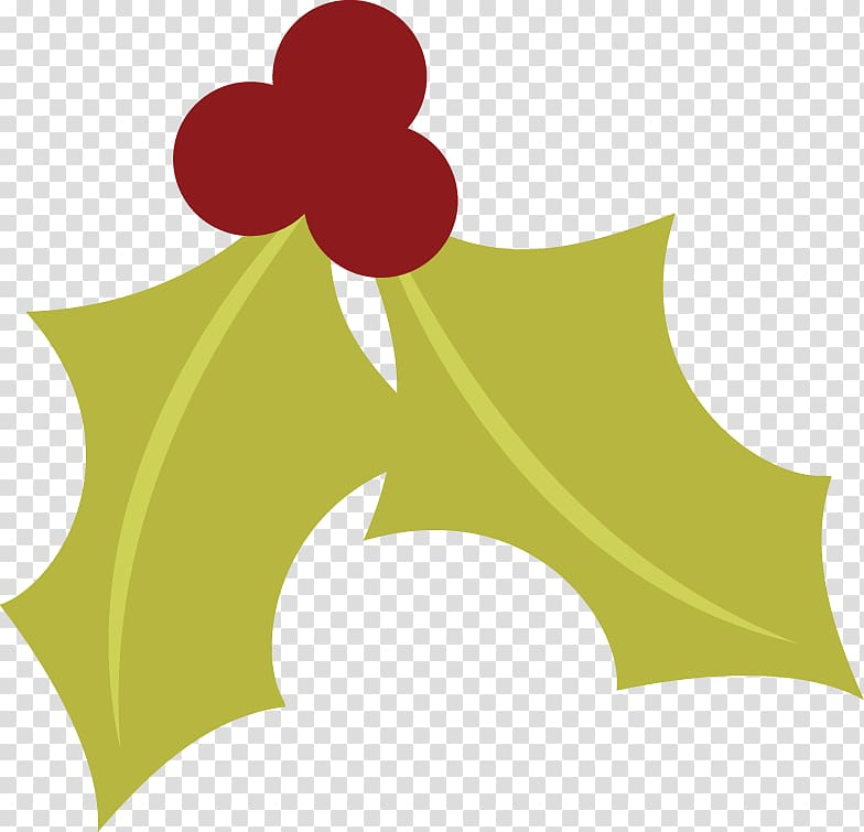 Holly Jolly Christmas transparent background PNG cliparts.
