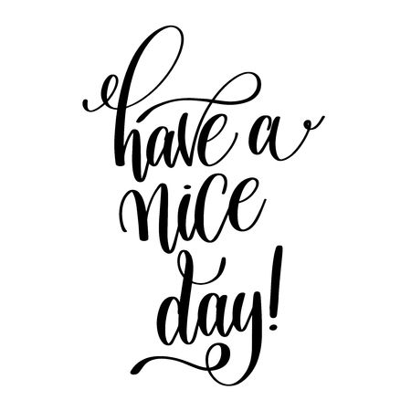 871 Have A Nice Day Cliparts, Stock Vector And Royalty Free Have A.