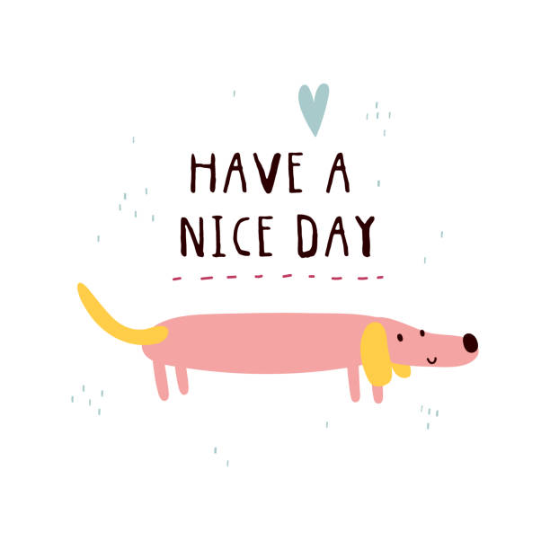 Have A Nice Day Cartoons Illustrations, Royalty.