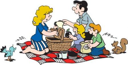 Have A Picnic Clipart.