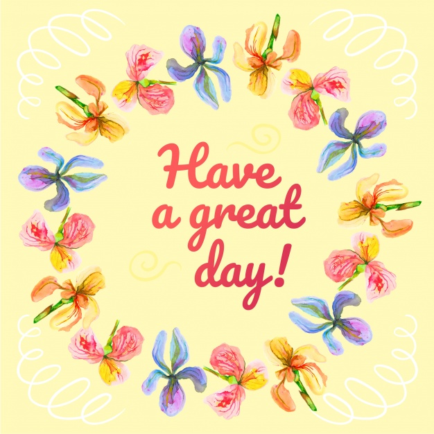 Have a wonderful day clipart 4 » Clipart Station.