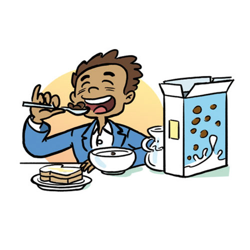Have breakfast clipart #4