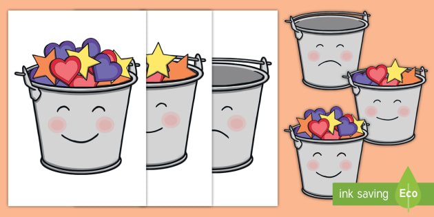 Have You Filled a Bucket Today Buckets (A4, Color).