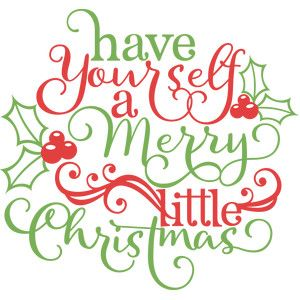 Silhouette Design Store: have yourself a merry little.