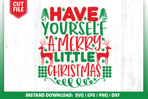 Have yourself a merry little Christmas.