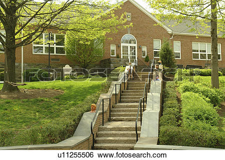Stock Images of Haverford, PA, Pennsylvania, The Haverford School.