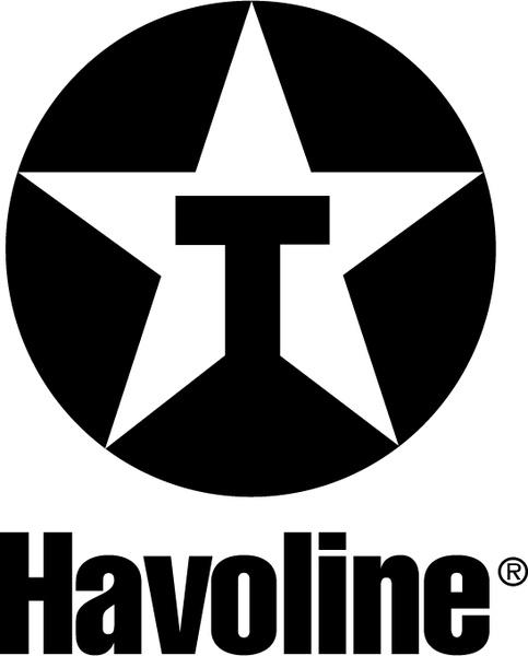 Havoline 1 Free vector in Encapsulated PostScript eps ( .eps.